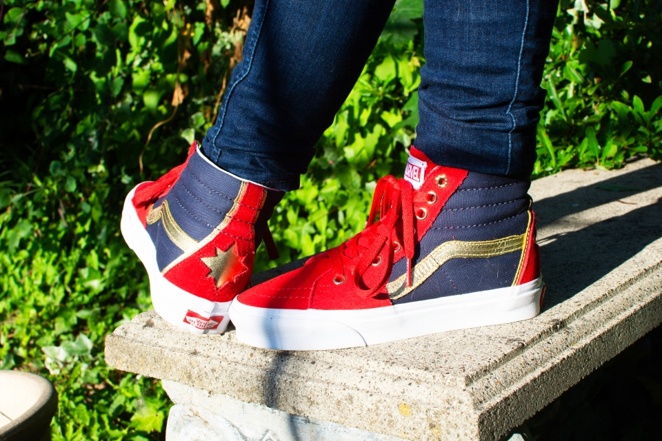 captain marvel shoes